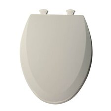Lift-Off Wood Elongated Toilet Seat