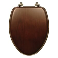 Natural Reflections Wood Elongated Toilet Seat