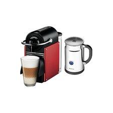 OriginalLine Pixie Espresso Maker with Aeroccino Plus Milk Frother