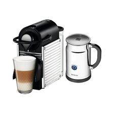 OriginalLine Pixie Espresso Maker with Aeroccino Plus Milk Frother