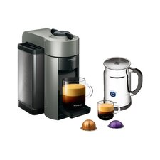 Evoluo Aerocinno Espresso Maker with Aeroccino Plus Milk Frother