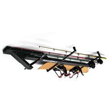 Retract-A-Rack Ceiling Mounted Equipment Storage Sports Rack