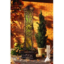 Copper Falls Water Trellis Floor Fountain