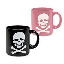 Fun Factory 'His & Her' Skull Mug (Set of 2)