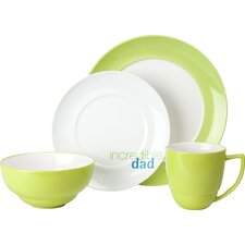 "Family ""Incredible Dad"" 4 Piece Place Setting"