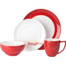 "Family ""Delightful Daughter"" 4 Piece Place Setting"