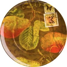 "Accents Nature 8"" Pears Plate (Set of 4)"