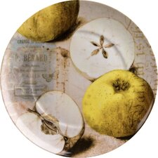 "Accents Nature 8"" Apples Plate (Set of 4)"