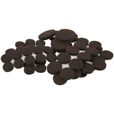 SoftTouch 80 Piece Self-Stick Furniture Felt Pads Value Pack