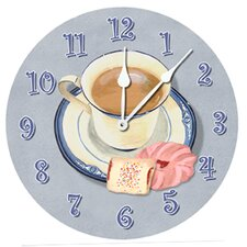"Afternoon Coffee 10"" Wall Clock"