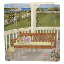 Home and Garden Porch Swing Book Photo Album