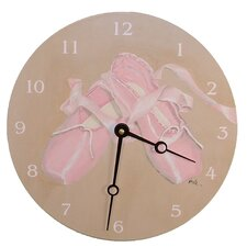 """Sports 18"""" The Ballet Wall Clock"""