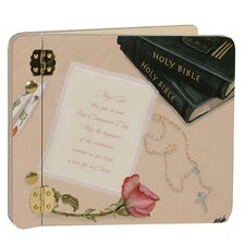 Children and Baby Her First Communion Mini Book Photo Album