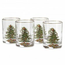 14 Oz. Double Old Fashioned Glass (Set of 4)