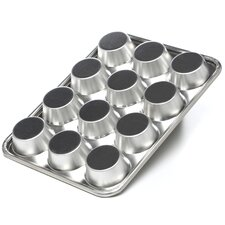 Natural Commercial Nonstick 12 Cup Muffin Pan