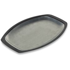 Stainless Steel Grill N Serve Plate