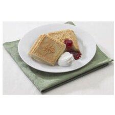 Seasonal Snowflake Shortbread Pan