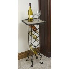 4 Bottle Floor Wine Rack