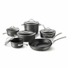 Contemporary Nonstick 12-Piece Cookware Set