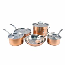 Try Ply Stainless Steel 10 Piece Cookware Set