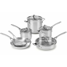 Calphalon Signature™ Stainless Steel 10 Piece Cookware Set