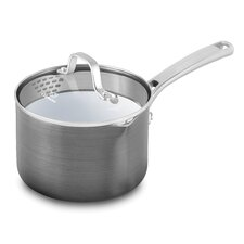 Classic Ceramic Saucepan with Lid