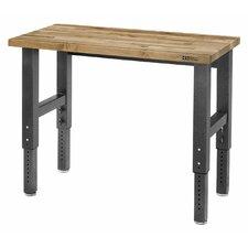 Premier Series Height Adjustable Maple Top Workbench