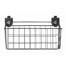 """18"""" W x 12"""" D Ventilated  Wire Basket Garage Storage for GearTrack or GearWall"""