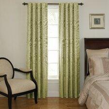 Room Darkening Rod Pocket Window Single Curtain Panel