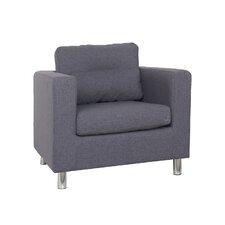 Detroit Arm Chair in Dark Gray