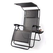 Pacific Black XL Zero Gravity Chair