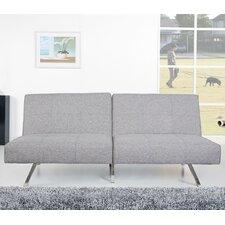 Victorville Ash Convertible Futon Sofa