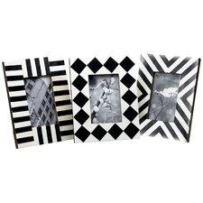 Kindwer Horn & Bone Geometric Picture Frame (Set of 3)