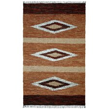 Matador Hand-Loomed Brown Area Rug