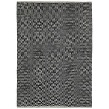 Earth First Hand-Woven Black Area Rug