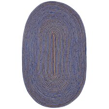 Earth First Hand-Loomed Blue Area Rug