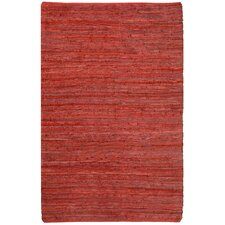 Matador Hand-Loomed Red Area Rug