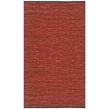 Matador Leather Chindi Copper Area Rug