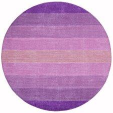 Aspect Stripes Purple Tufted Area Rug