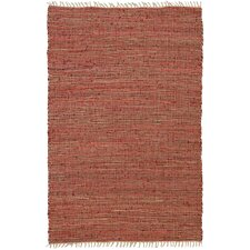 Matador Leather/Hemp Copper Area Rug