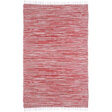 Complex Red Area Rug