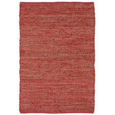 Earth First Red Area Rug