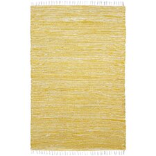 Complex Yellow Area Rug
