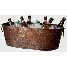 Kindwer Copper Leaf Obong Tub