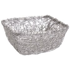 Kindwer Square Twist Wire Mesh Storage Basket