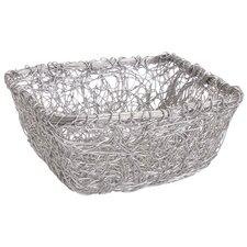 Kindwer Square Twist Wire Mesh Storage Basket