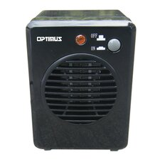 300 Watt Portable Electric Fan Compact Heater