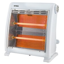 800 Watt Portable Electric Infrared Compact Heater