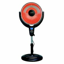 Portable Electric Radiant Compact Heater with Remote