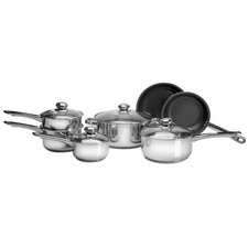 11 Piece Non-Stick Frying Pan Set